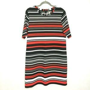 Halogen Nordstrom Knit Short Sleeve Shirt Dress